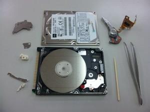 ハードディスクの物理不良